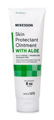 Skin Protectant McKesson 8 oz. Tube Fragrance Free Ointment