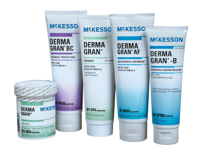 Skin Protectant McKesson DERMA GRAN 4 oz. Jar Unscented Ointment