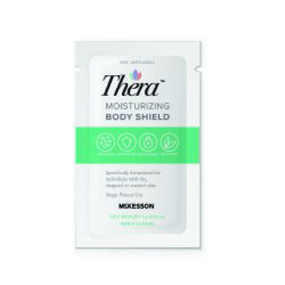 Skin Protectant Thera Moisturizing Body Shield 4 Gram Individual Packet Scented Cream
