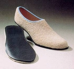Slippers Care-Steps II Adult 5 to 6 Tan Below the Ankle