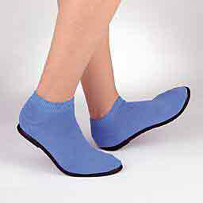 Slippers Pillow Paws Medium Azure Ankle High - 5085