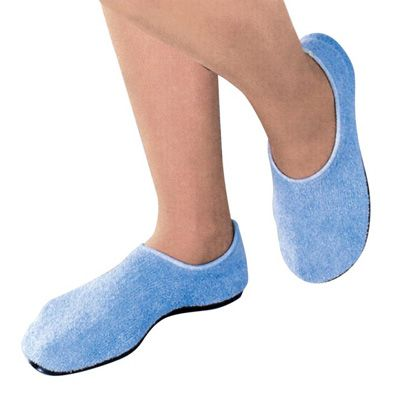 Slippers Pillow Paws Medium Azure Ankle High - 5185