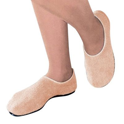 Slippers Pillow Paws X-Large Sand Ankle High