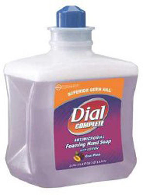 Soap Dial Complete Foaming 1 Liter Refill Bottle Cool Plum Scent