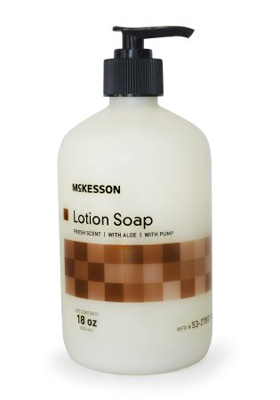 Soap McKesson Lotion 18 oz. Pump Bottle Fresh Scent