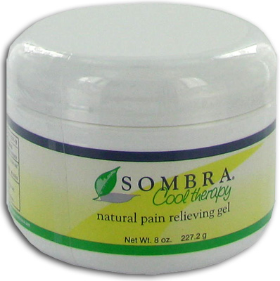 Sombra Cool Therapy Natural Pain Relieving Gel - 8 oz Jar