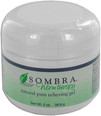 Sombra Warm Therapy Natural Pain Relieving Gel - 2 oz Jar