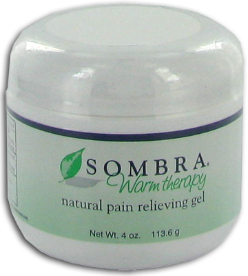 Sombra Warm Therapy Natural Pain Relieving Gel - 4 oz Jar