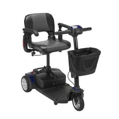 Drive Medical Spitfire EX Travel 3-Wheel Mobility Scooter spitfire132016fs21
