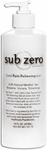 Sub-Zero Cool Pain Relieving Gel Original, Pump - 16 oz