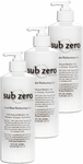 Sub-Zero Cool Pain Relieving Gel Original, Pump - 16 oz (3 Pack)