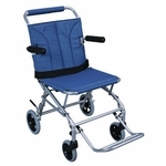 Drive Medical Super Light Folding Transport Wheelchair with Carry Bag Model sl18
