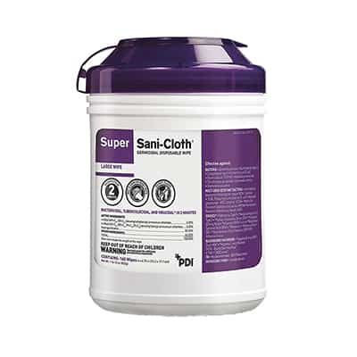 Super Sani-Cloth Surface Disinfectant Germicidal Wipe 160 Count Canister