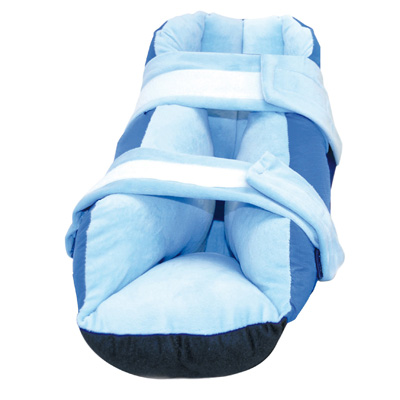 Super Soft Heel Protector Boot One Size Fits Most Blue