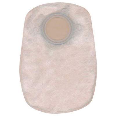 Sur-Fit Natura Colostomy Pouch Two-Piece System 8 in Length Closed End Opaque 1 1/2 in