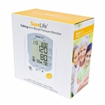 SureLife Talking Automatic Arm Blood Pressure Monitor 3 Languages 860214