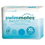 Swimmates Disposable Swimwear - X-Large - 2847 56 /cs (4 bags of 14)