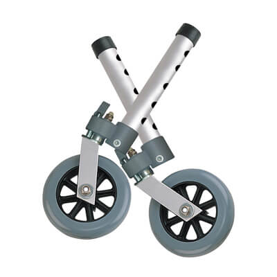 Drive Medical Swivel Lock 5 inch Walker Wheels Model 10115