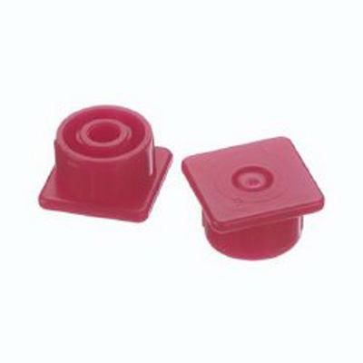 Syringe Cap Multi-AD Red, Luer Lock