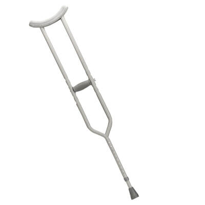 Drive Medical Tall Adult Bariatric Heavy Duty Walking Crutches 10408