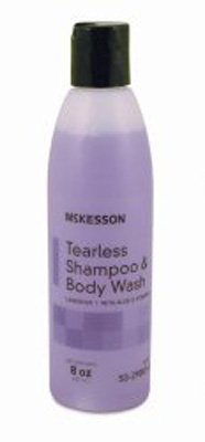 Tearless Shampoo and Body Wash McKesson 8 oz. Squeeze Bottle Lavender Scent