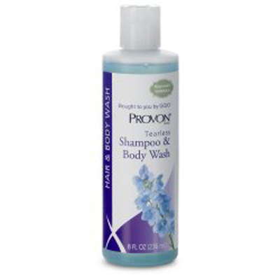 Tearless Shampoo and Body Wash Provon 8 oz. Squeeze Bottle Floral Scent