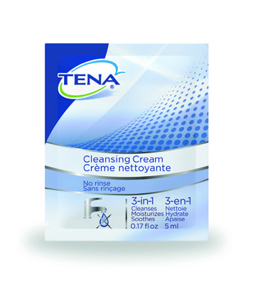 TENA Cleansing Cream .17 fl. oz. (5 ml) - 64420 - 500/cs