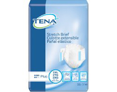 TENA Stretch Plus Briefs - 2XL - 61090 - 64/cs