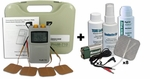 ProM-710 TENS and Muscle Stimulation Combo Unit plus Accessory Kit