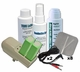 TENS Unit Accessories Kit, Pads (x8), Wires (x2), Spray, Lotion, Skin Prep, Rechargeable 9V Batteries (x2) & Charger