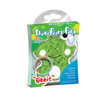 TheraPearl Pals - Ribbit the Frog Hot and Cold Pack