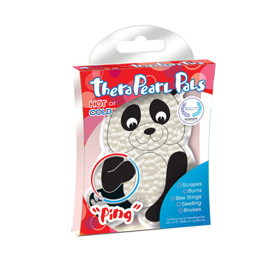 TheraPearl Pals - Ping the Panda Hot and Cold Pack