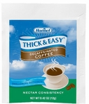 Thickened Beverage Thick & Easy 0.42 oz. Individual Packet Coffee Ready to Mix Nectar