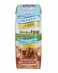 Thickened Dairy Beverage Thick & Easy 8 oz. Carton Chocolate Ready to Use Honey