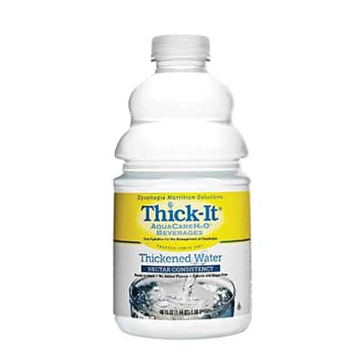 Thickened Water Thick-ItAquaCare H20 48 oz. Bottle Unflavored Ready to Use Honey