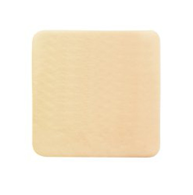 Thin Silicone Foam Dressing McKesson Lite 6 X 6 Inch Square Silicone Gel Adhesive without Border Sterile