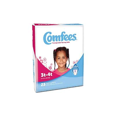 Comfees Toddler Training Pants Pull On 3T - 4T Disposable Moderate Absorbency - CMF-G3 - Case of 138