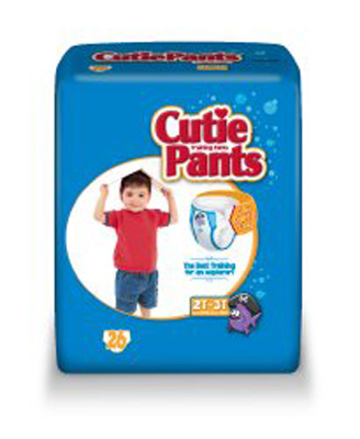 Toddler Training Pants Cutie Pants Pull On 2T - 3T Disposable Heavy Absorbency