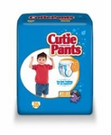 Cuties Toddler Training Pants Pull On 2T - 3T Disposable Heavy Absorbency CR7007 - Case of 104