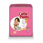 Cuties Toddler Training Pants Pull On 2T - 3T Disposable Heavy Absorbency CR7008 - Case of 104