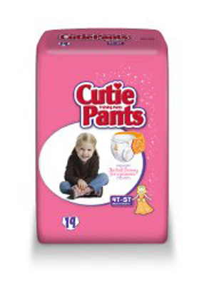 Toddler Training Pants Cutie Pants Pull On 4T - 5T Disposable Heavy Absorbency