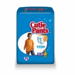 Cuties Toddler Training Pants Pull On 4T - 5T Disposable Heavy Absorbency CR9007 - Case of 76