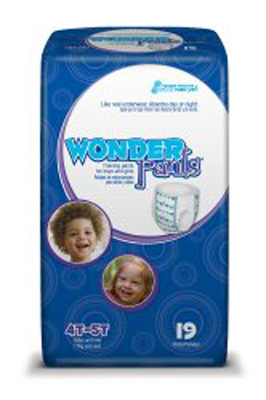 Toddler Training Pants WonderPants Pull On 4T - 5T Disposable Heavy Absorbency