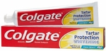 Toothpaste ColgateTartar Protection Whitening Crisp Mint Flavor 6 oz Tube