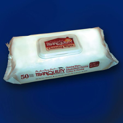 Tranquility Cleansing Wipes - Full Case - 3101 672 /cs (12 bags of 56)