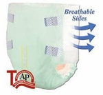 Tranquility SmartCore Disposable Briefs - Medium - 2312 96 /cs (8 bags of 12)