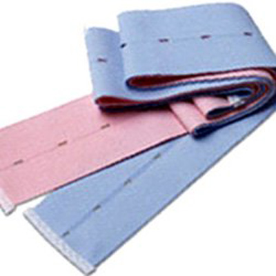 Transducer Belt Life Trace Buttonhole Style, Pink and Blue, 2-3/8 X 48 Inch Fetal Monitoring