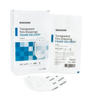Transparent Film Dressing McKesson Octagon 2-3/8 X 2-3/4 Inch Frame Style Delivery Without Label Sterile