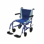 Drive Medical TranSport Aluminum Transport Wheelchair Model ts19