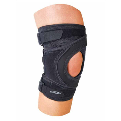 Tru-Pull Lite Knee Brace Large Strap Closure 21 to 23-1/2 in Circumference Left Knee